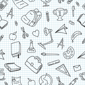 School Doodles Png, Vector, PSD, and Clipart With Transparent.