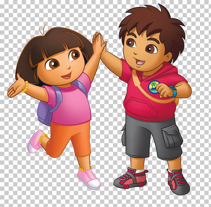Diego Dora the Explorer Baby Jaguar Cartoon , super mom PNG clipart.