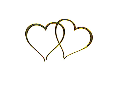 Double Heart Images ., Wedding Heart Free Clipart.
