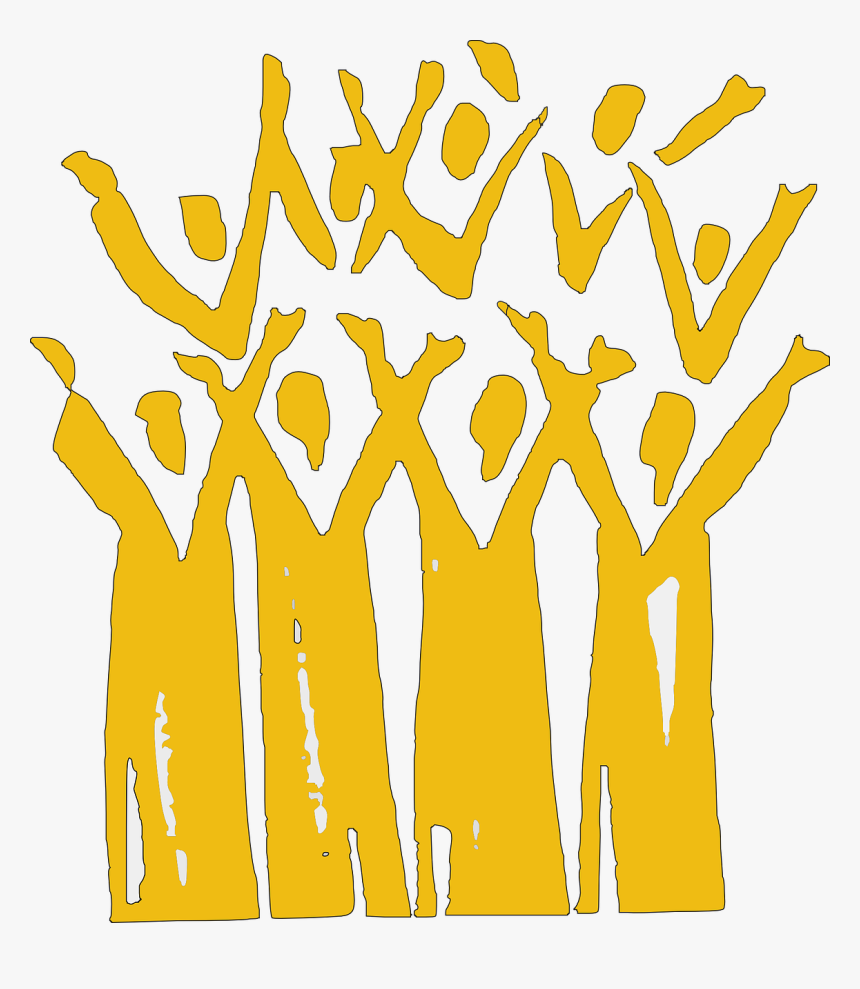 Gospel Choir Clip Art, HD Png Download.