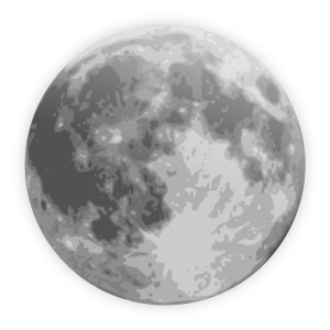 Man in the moon clipart free images 2.