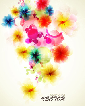 Light color flowers background free vector download (55,443 Free.