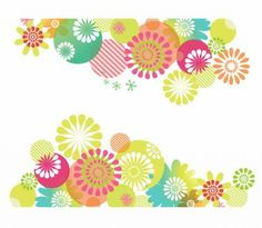 Vector spring flower background Free vector for free download.