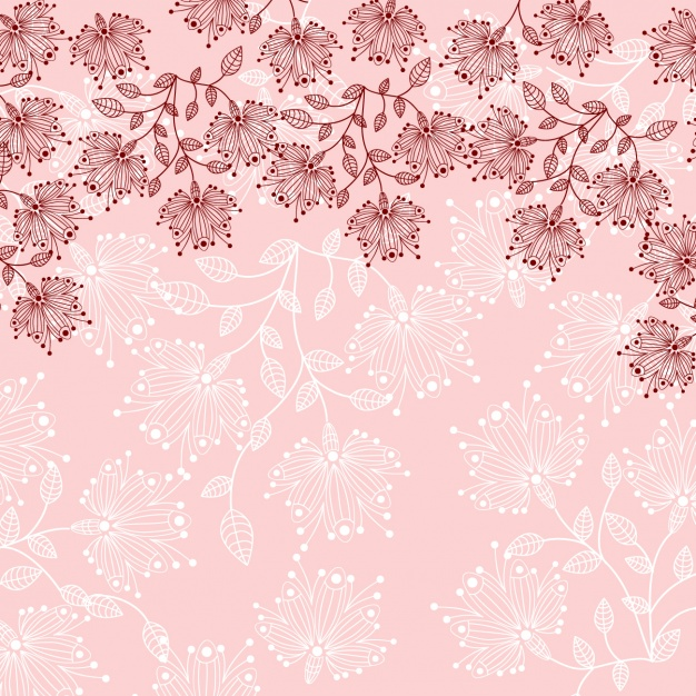 Floral background design Vector.