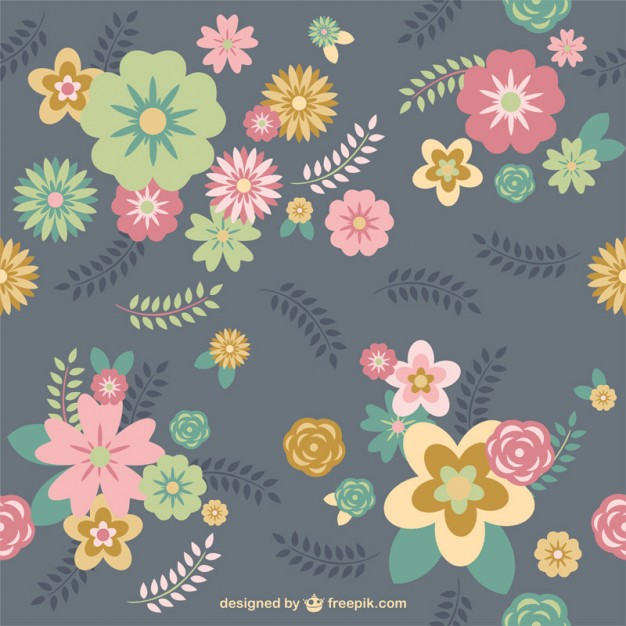 Floral background Vector.