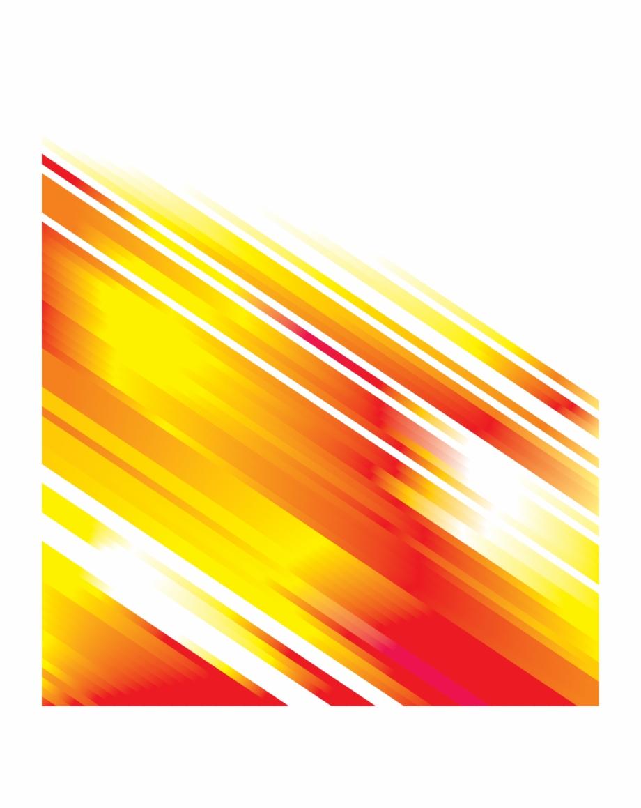Orange Decorative Line Vector Lines Free Download Png.