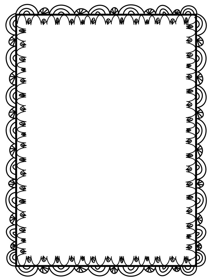 downloadable borders for word