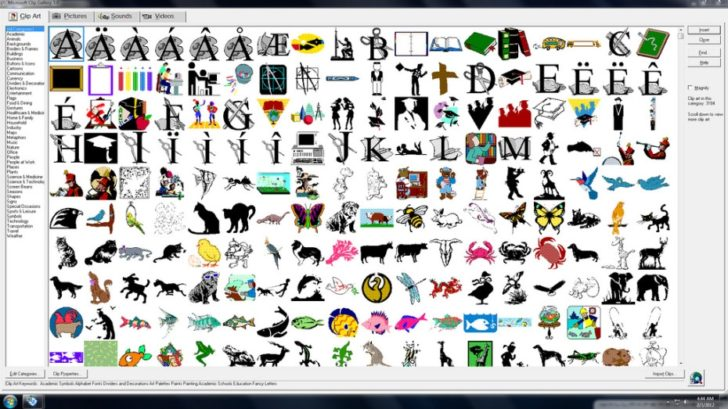 Microsoft Word Clip Art Free Download.