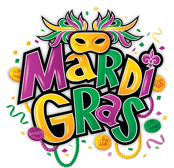 Best Mardi Gras Illustrations, Royalty.