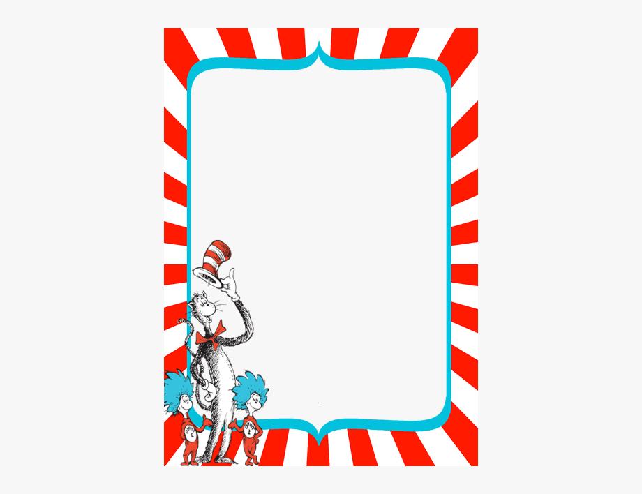 Dr Seuss Border Clipart , Transparent Cartoon, Free Cliparts.