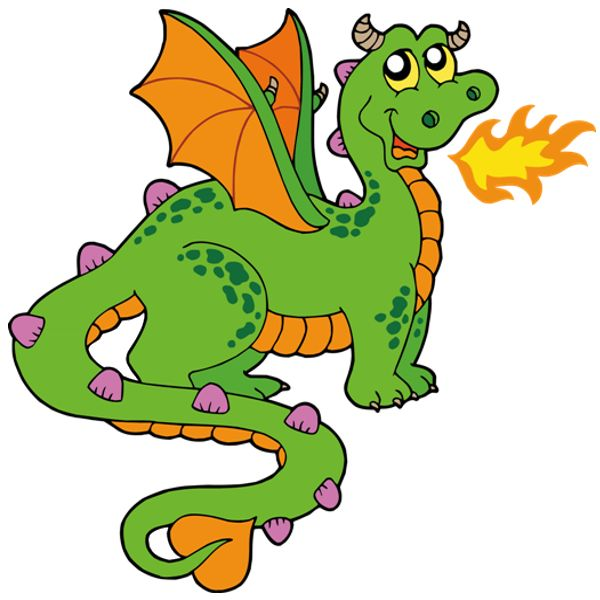 Dragon Clipart For Kids.