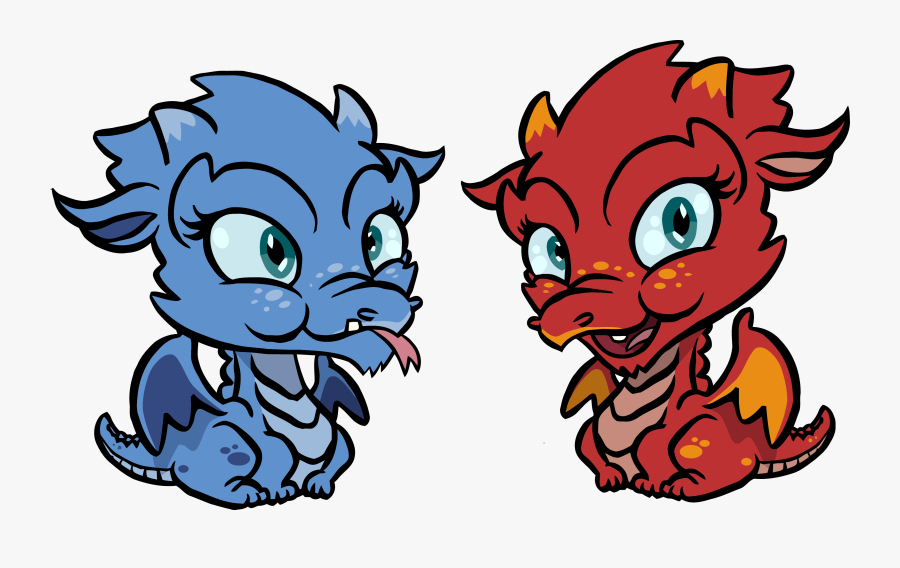 Cute Dragons Chibi Kids Clipart Png , Free Transparent.