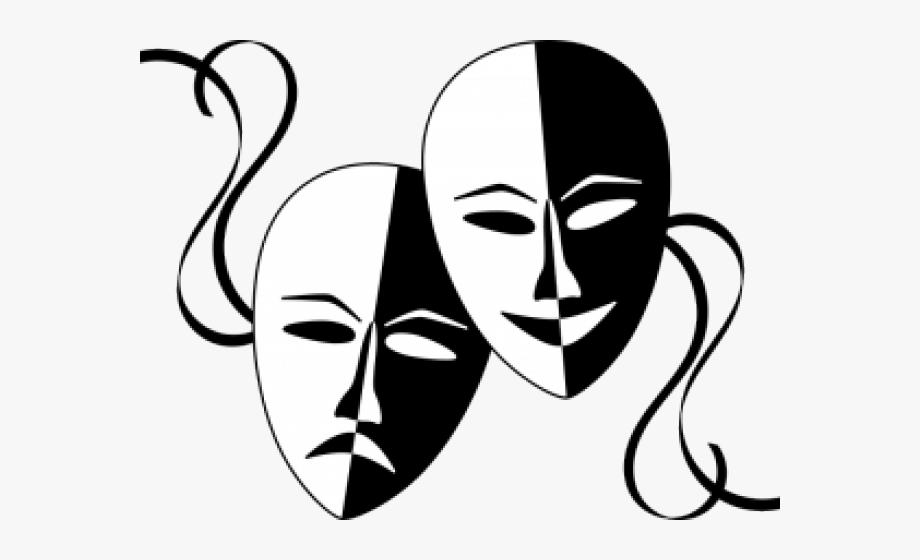 Transparent Drama Cliparts.