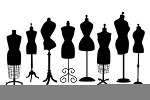 Dress Form Mannequin Clipart.