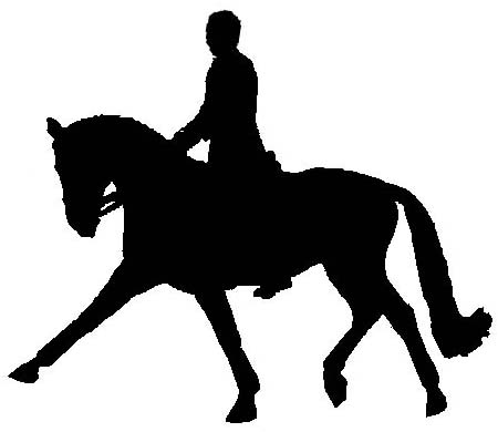 Free Dressage Horse Silhouette, Download Free Clip Art, Free.