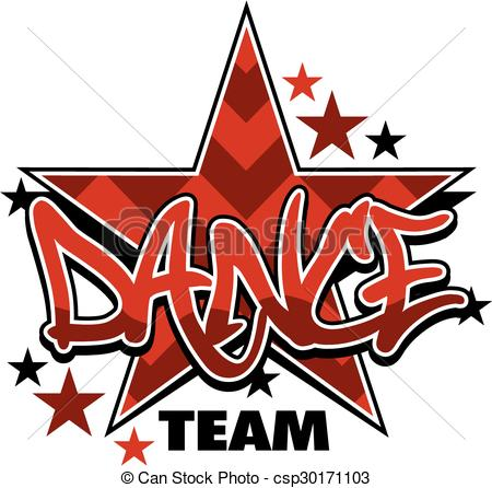 Dance Team Clipart.