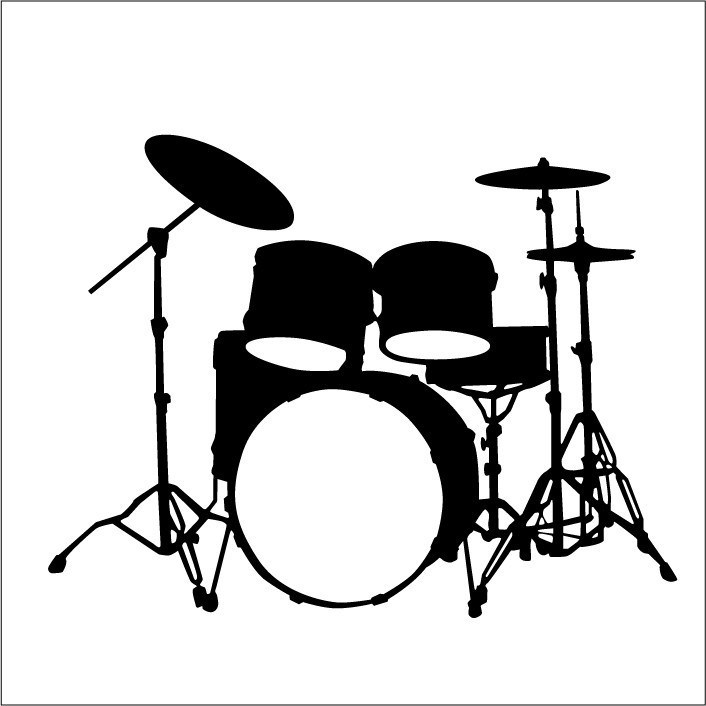 Drum set clipart free 2 » Clipart Portal.