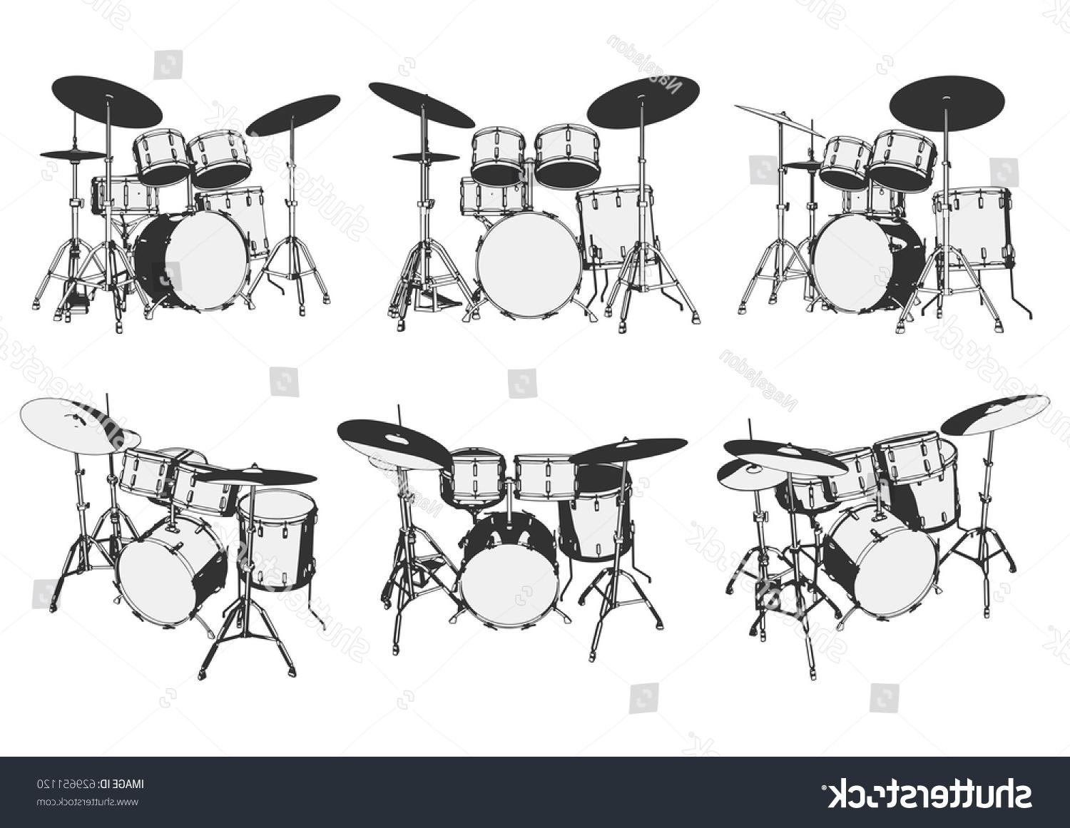 Best Free Drum Kit Vector Cdr » Free Vector Art, Images, Graphics.
