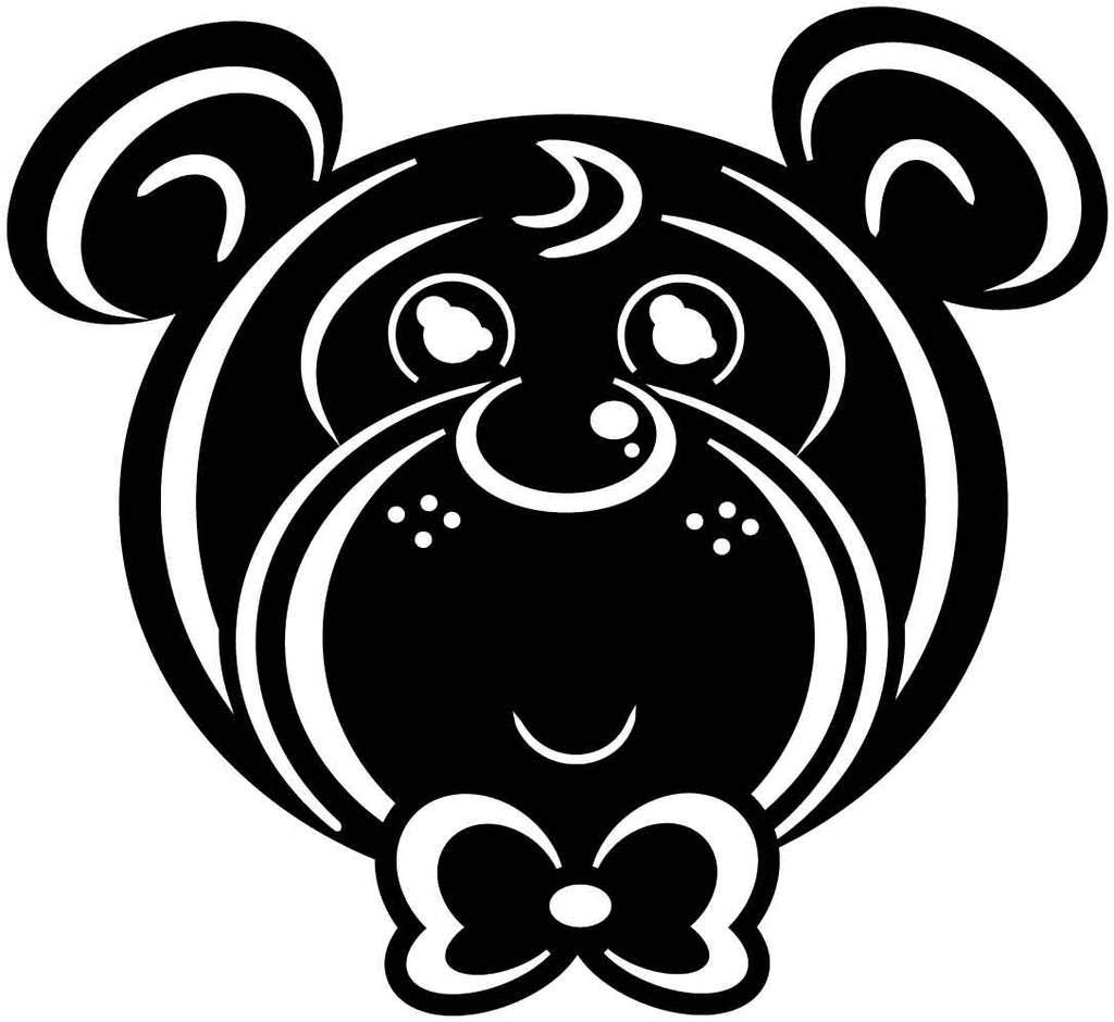 Teddy Bear Baby Free DXF file.