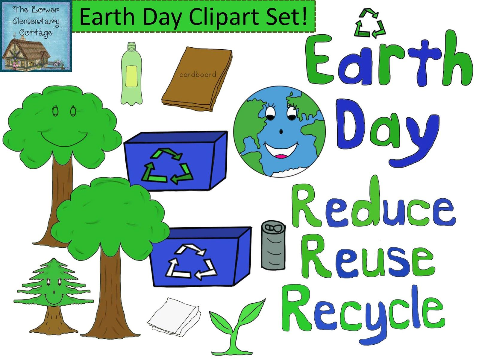 The Lower Elementary Cottage: NEW Earth Day Clipart!.