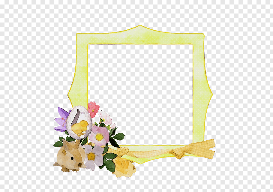 Spring Background Frame, Easter , Easter Bunny, BORDERS AND.