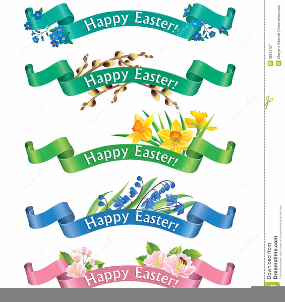Easter Borders Clipart Free.