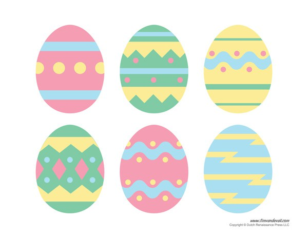 Free Printable Easter Clip Art.
