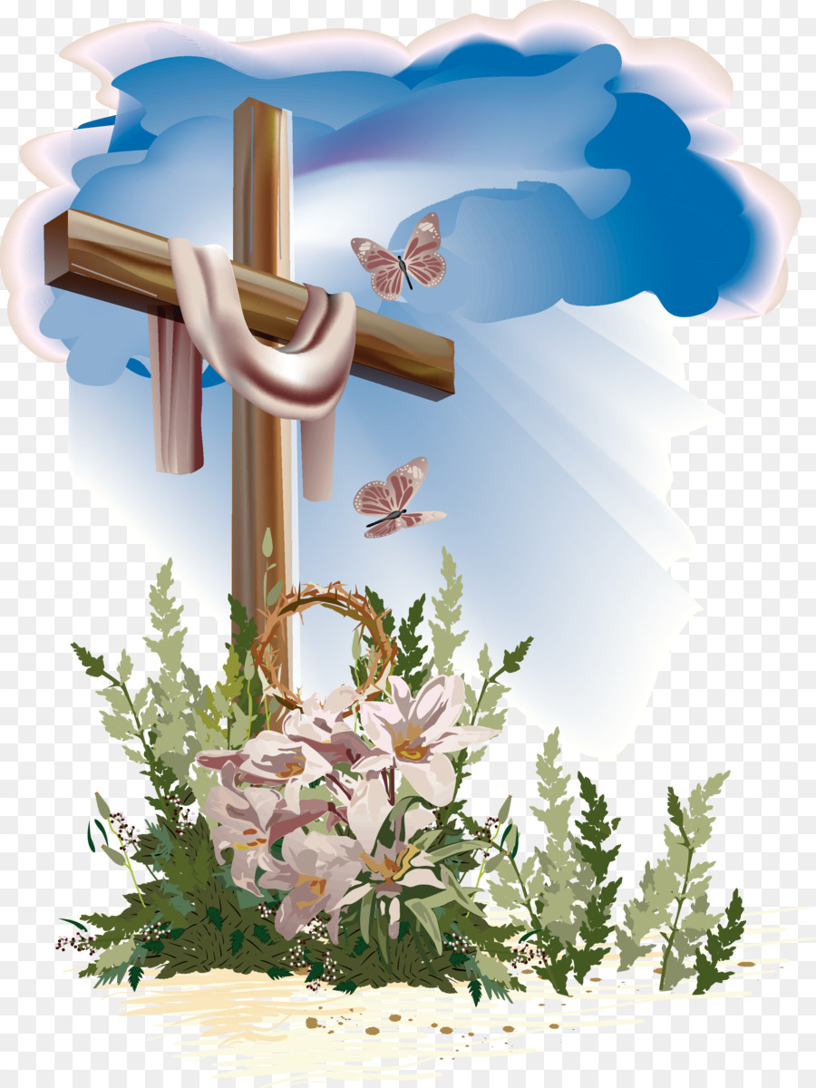 13895 Cross free clipart.