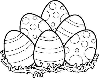 Free Easter Egg Black And White Clipart, Download Free Clip.
