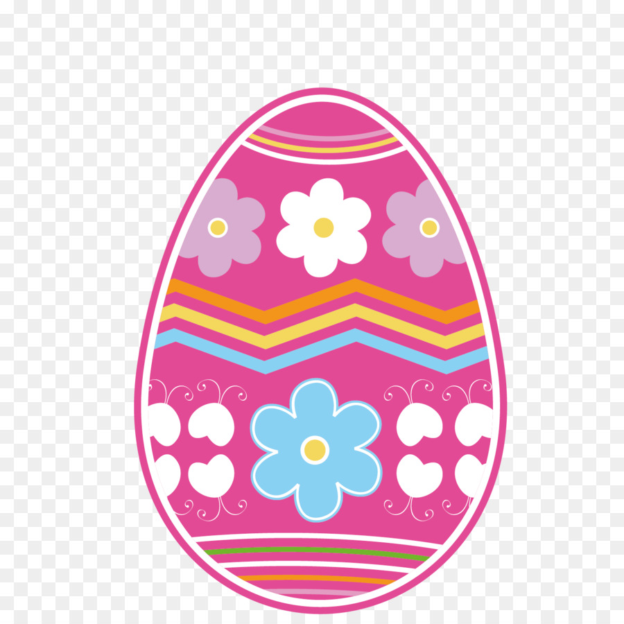 Easter Egg Background.