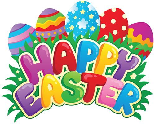 Happy Easter Emoticon.