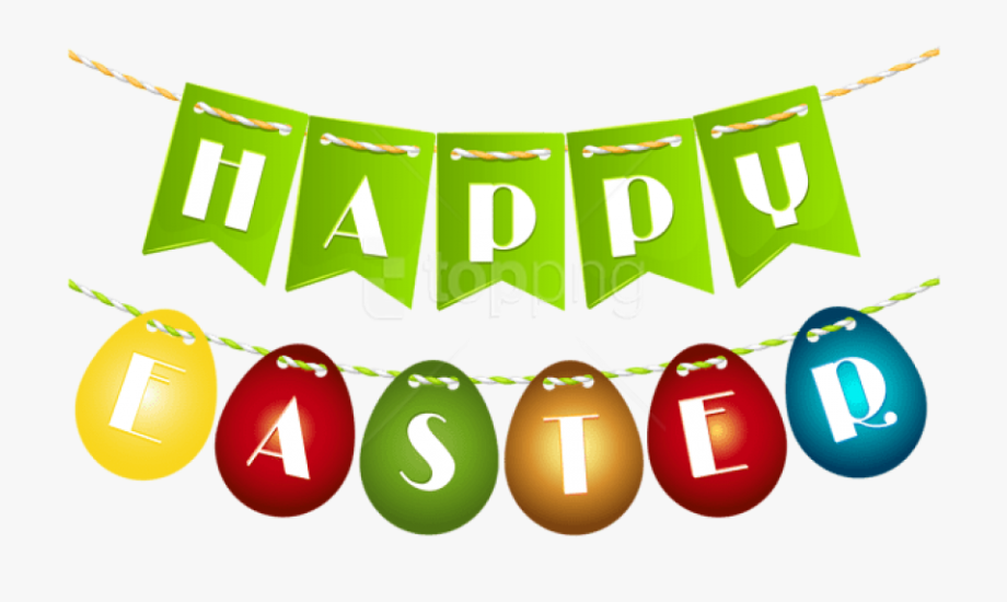 Free Png Download Happy Easter Egg Streamer Png Images.