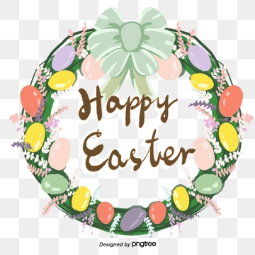 Happy Easter PNG Images.