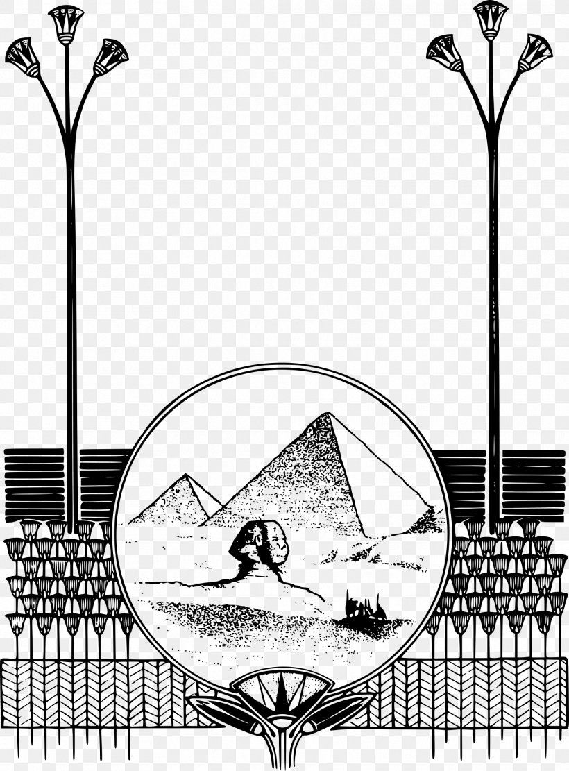 Egyptian Pyramids Ancient Egypt Picture Frames Clip Art, PNG.