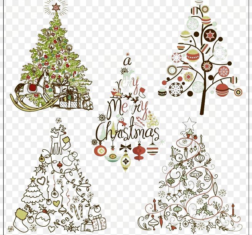 Santa Claus Christmas Tree Christmas Ornament Clip Art, PNG.
