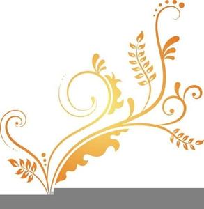 Elegant Swirls Clipart.