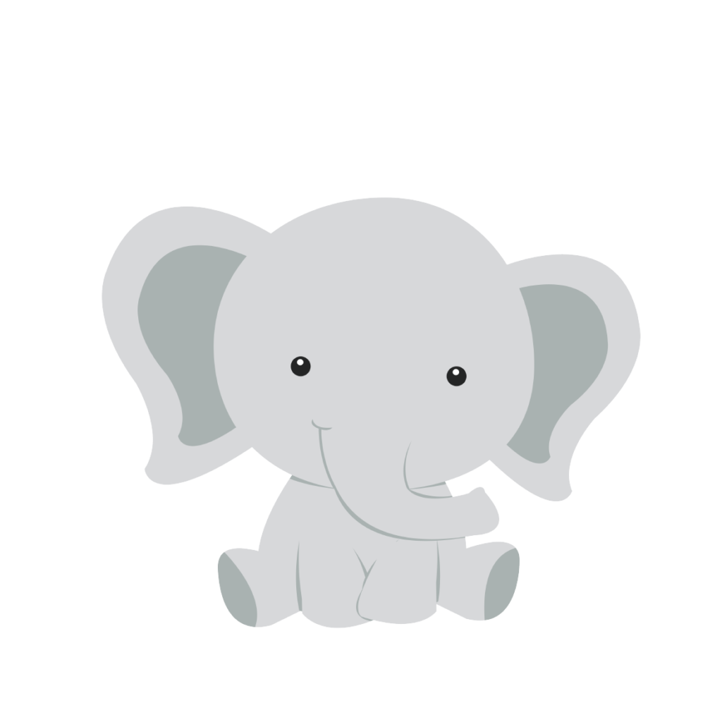 Diaper Infant Baby shower Elephant Clip art.
