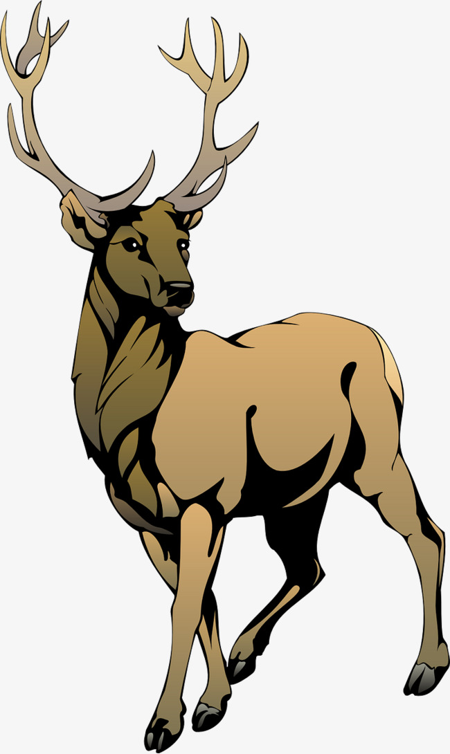 Free elk clipart 3 » Clipart Station.