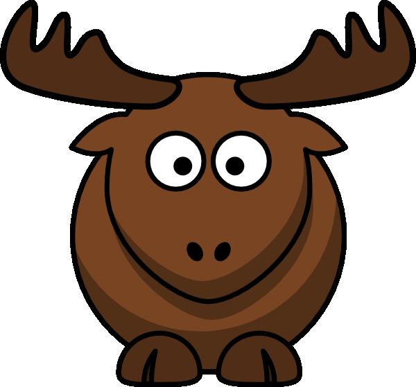 Cartoon Elk clip art Free Vector / 4Vector.