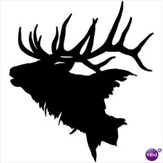 Elk Silhouette Clip Art & Elk Silhouette Clip Art Clip Art Images.
