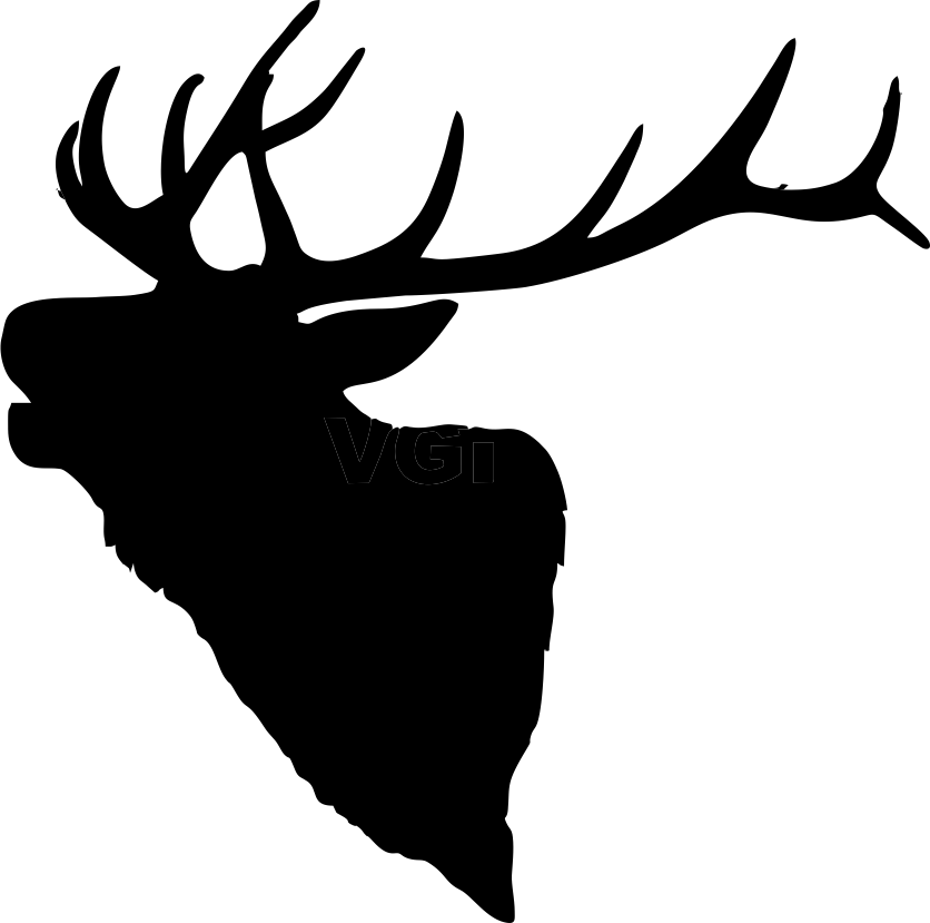 Elk antler drawing clipart images gallery for free download.