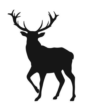 3,941 Elk Silhouette Cliparts, Stock Vector And Royalty Free Elk.