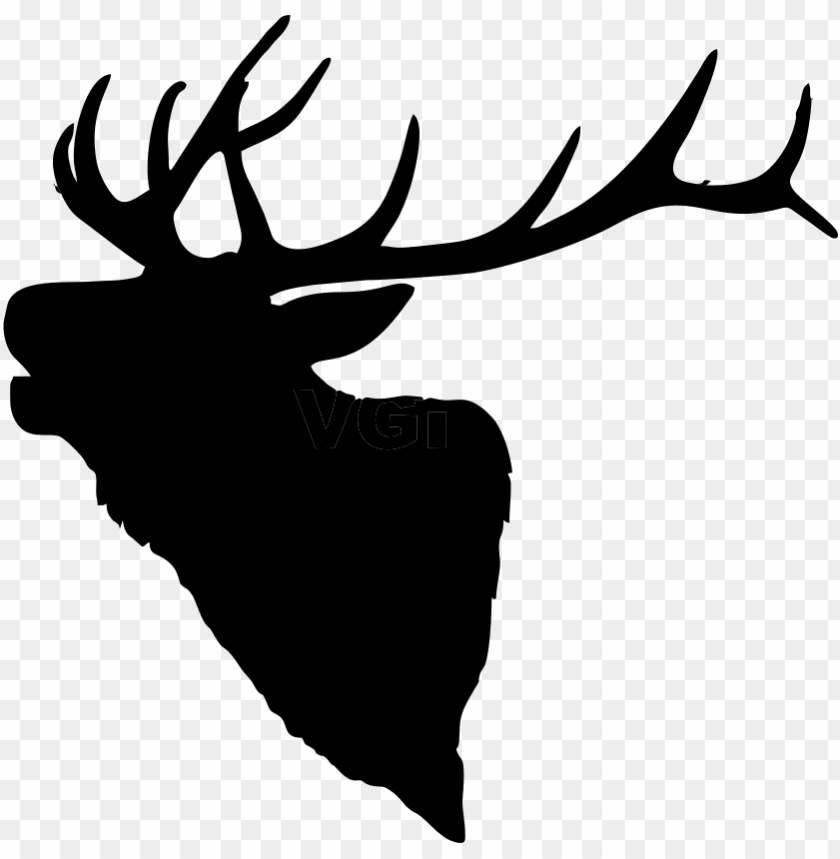 banner transparent library elk silhouette x png stencils.