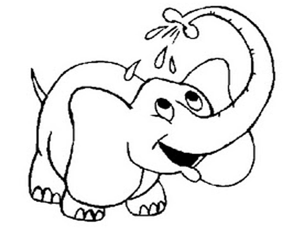 Free Printable Elephant Coloring Pages For Kids for Elephant.