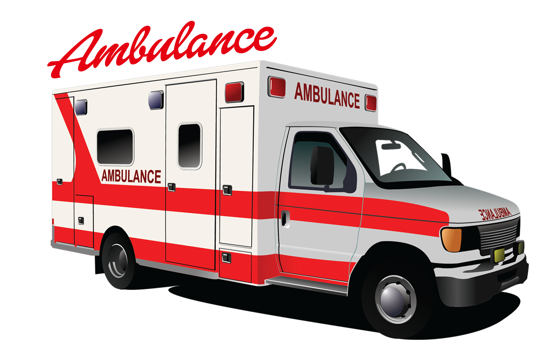 Ambulance Emergency vehicle Clip art.