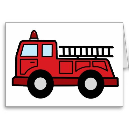 Emergency Vehicle Card Clip Art Free.