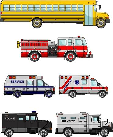 26,407 Emergency Vehicle Stock Vector Illustration And Royalty Free.