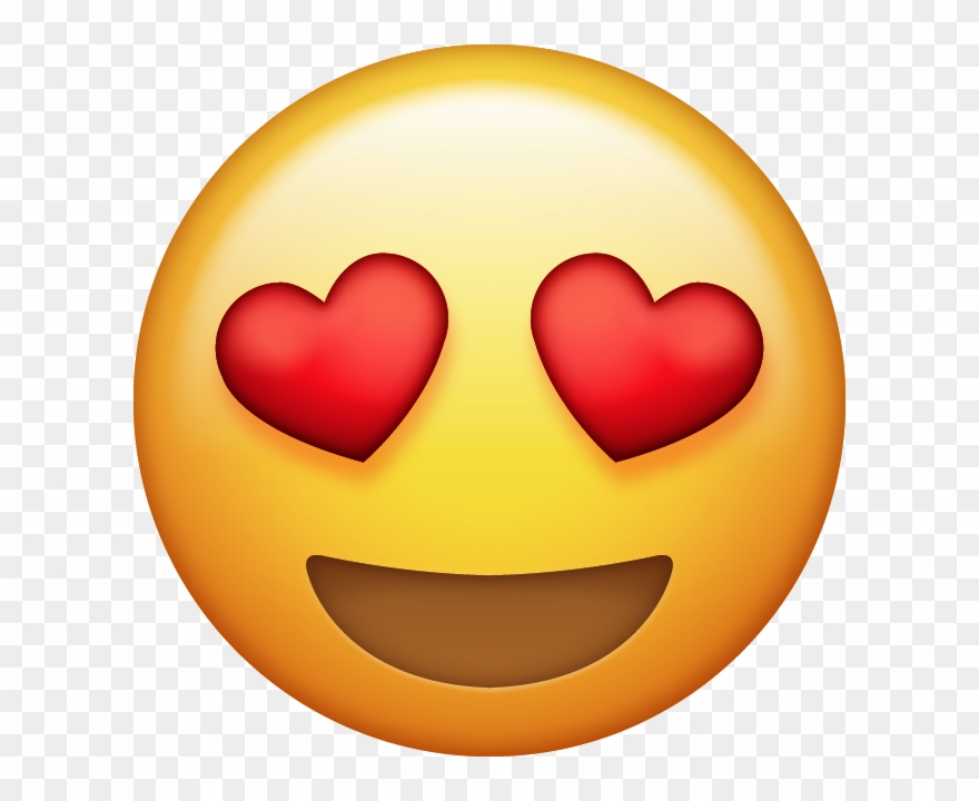 Download Heart Eyes Emoji [free Iphone Emoji Images.
