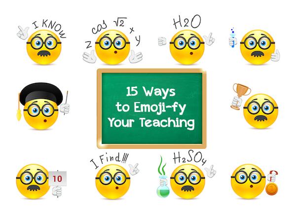15 Ways to Emoji.