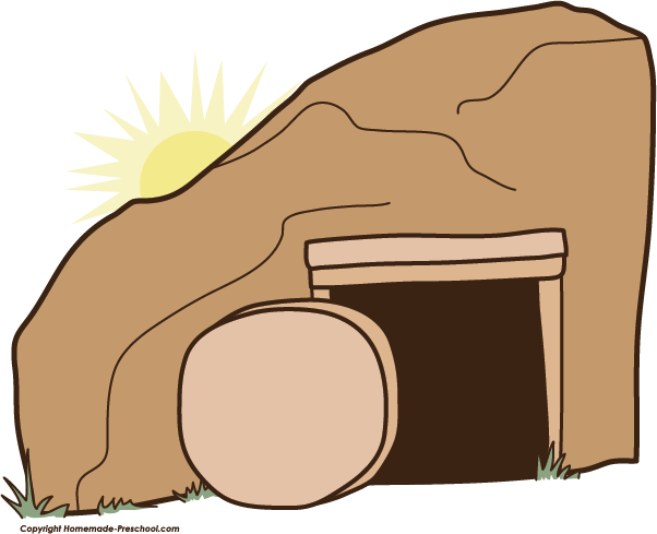 Empty tomb Tomb of Jesus Easter Clip art.